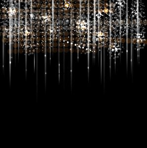 disco light rain stars abstract dance background